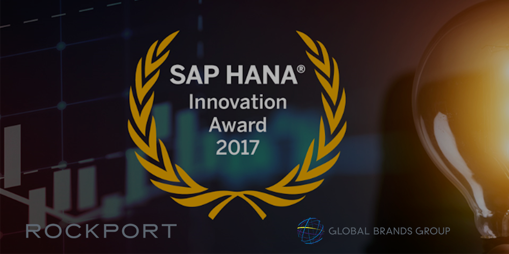 Global Brands Group and The Rockport Group recognized by SAP HANA® Innovation Award 2017