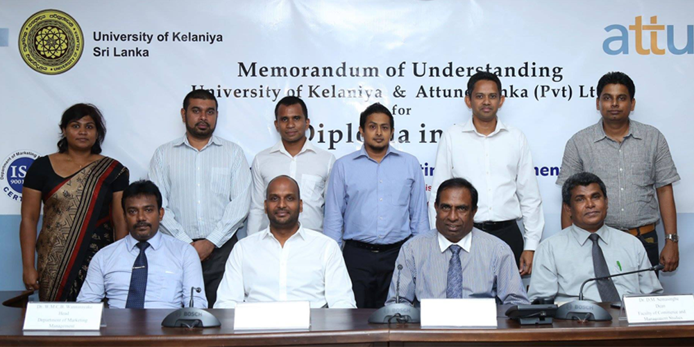 attune signs MOU with the University of Kelaniya to launch a Diploma in ERP